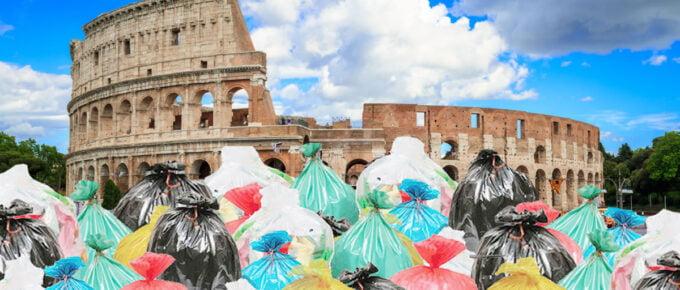 Smaltimento rifiuti Roma